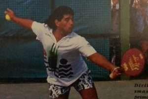 padel argentina maradona