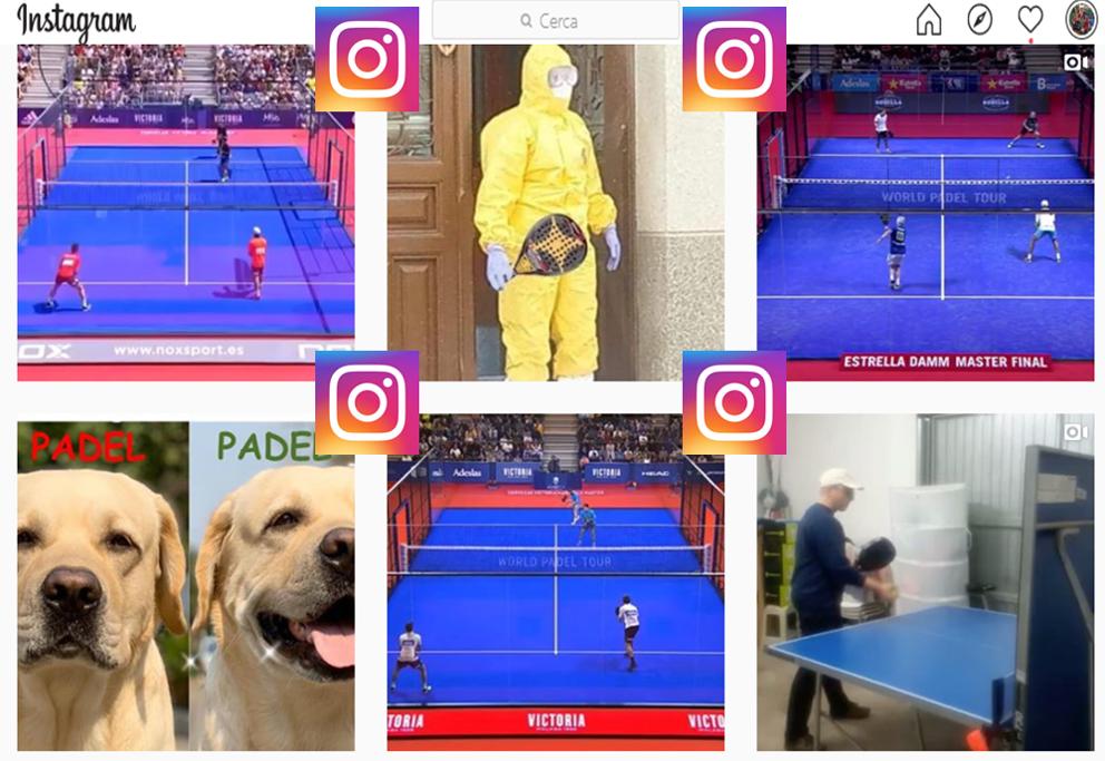 Instagram e lo sviluppo del Padel