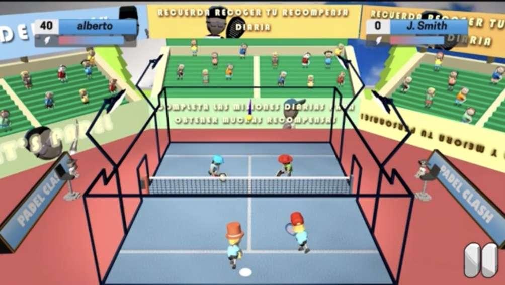 Padel Clash il nuovo videogioco sul Padel