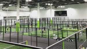 Campi indoor , struttura Padel Zenter di proprietà del giocatore Ibrahimovic
