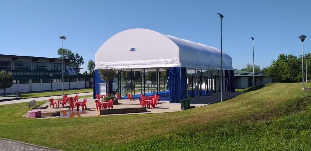 Padel Indoor : Le Coperture dei campi
