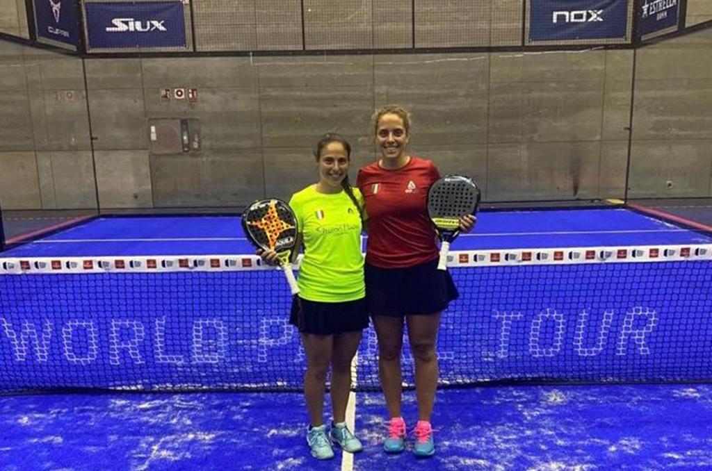 Eccezionali Chiara e Giulia entrano nel Cuadro finale dell'Open di Madrid!