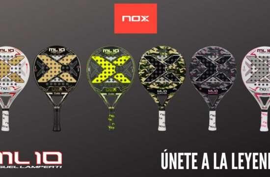 nox ml 10 racchette
