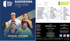 il programma ufficiale del Sardegna Open WPT