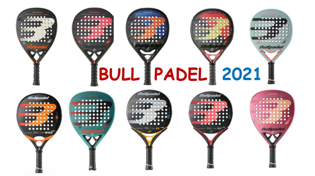 La nuova collezione Bullpadel 2021