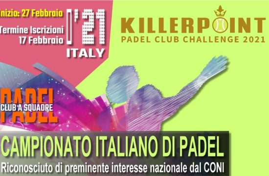 killer point padel amatoriale