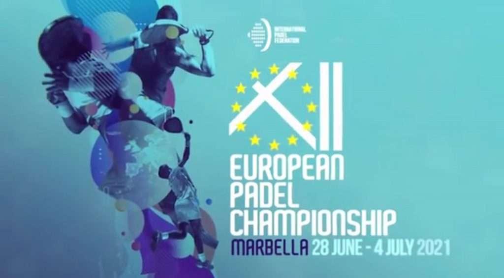 Campionati Europei di Padel 2021 si svolgeranno a  Marbella