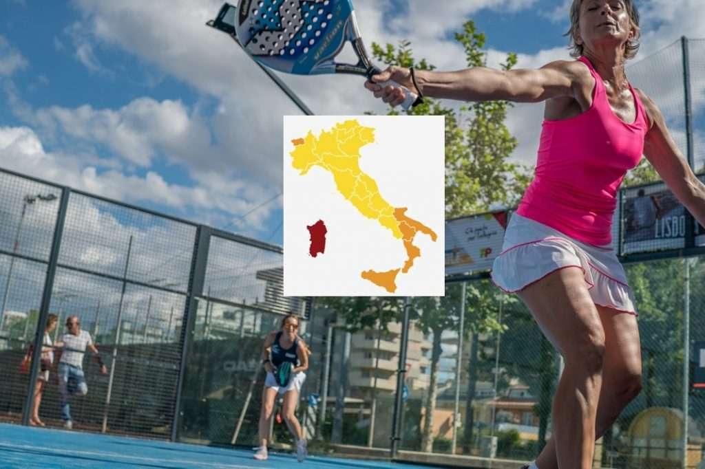 Dal 26 aprile si potrà giocare a padel in 19 regioni d'Italia