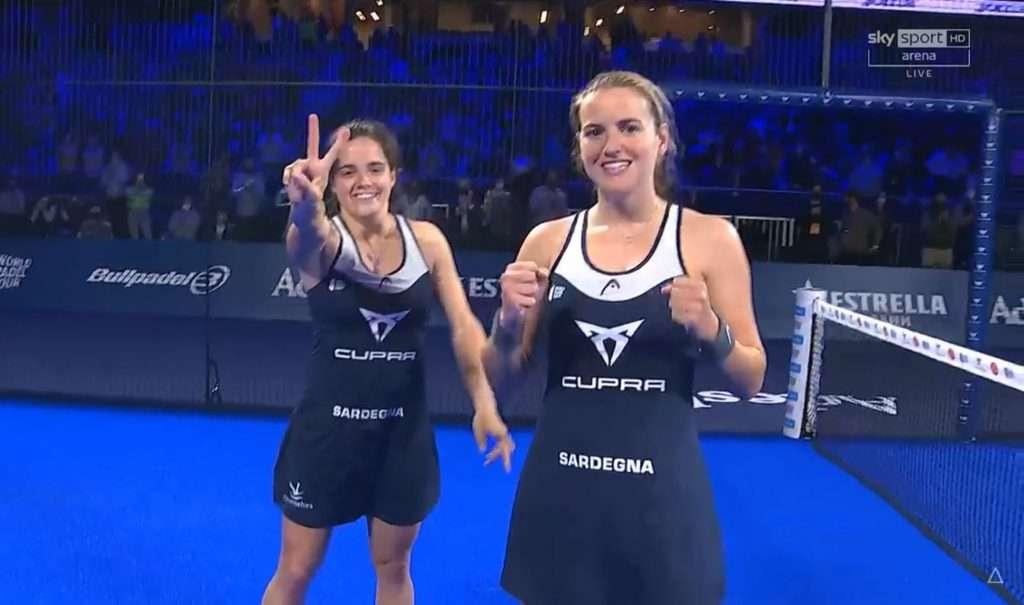 Adeslas Open Madrid WPT: Ari & Paula fantastiche!