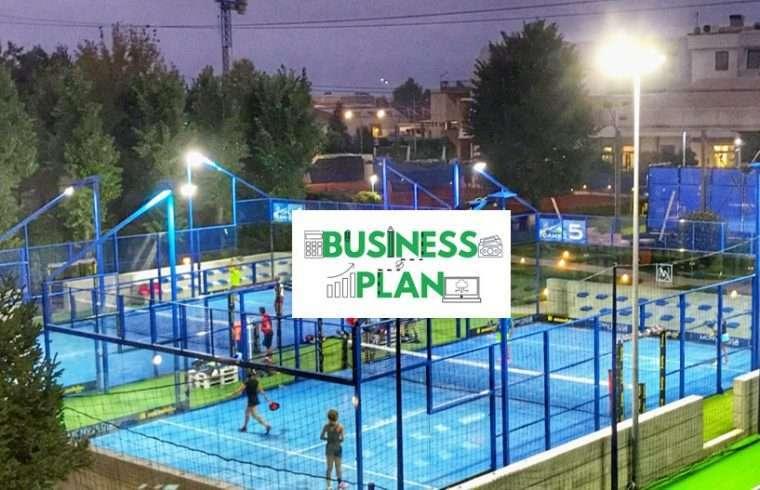 business plan padel