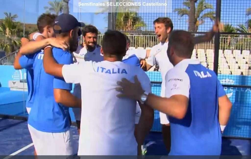 Italia in Finale agli Europei di Padel!
